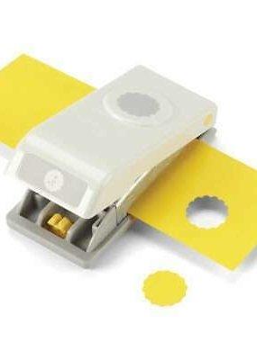 "EK Paper Shapers Punch Med Nesting Scallop Cir 3/4"""