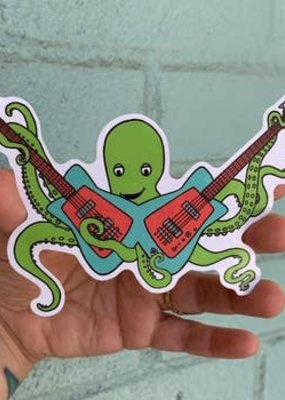 Salty Raven Sticker Octo Rocks