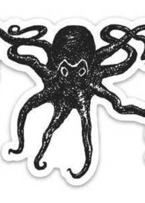 Salty Raven Sticker Die Cut Octopus