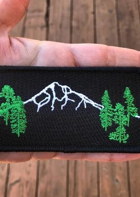 Salty Raven Patch Mt Hood Forest Iron-On
