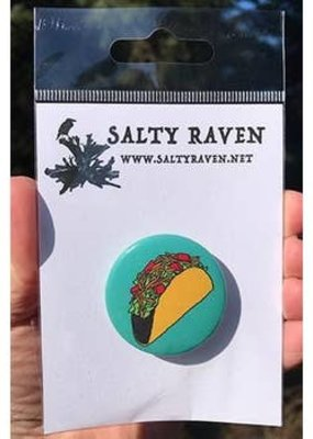 Salty Raven Button Taco