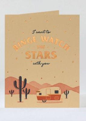 Elum Card  Binge Watching Stars