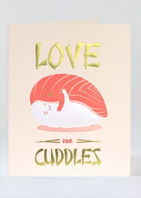 Elum Card  Sushi Cuddles