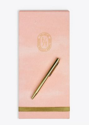 Elum List Pad with Pen Blush Smoke