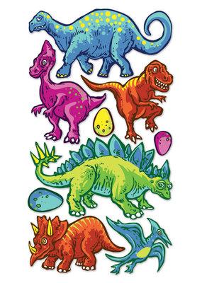 Sticko Sticker Metallic Dinos