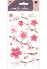 EK Sticker Vellum Cherry Blossoms