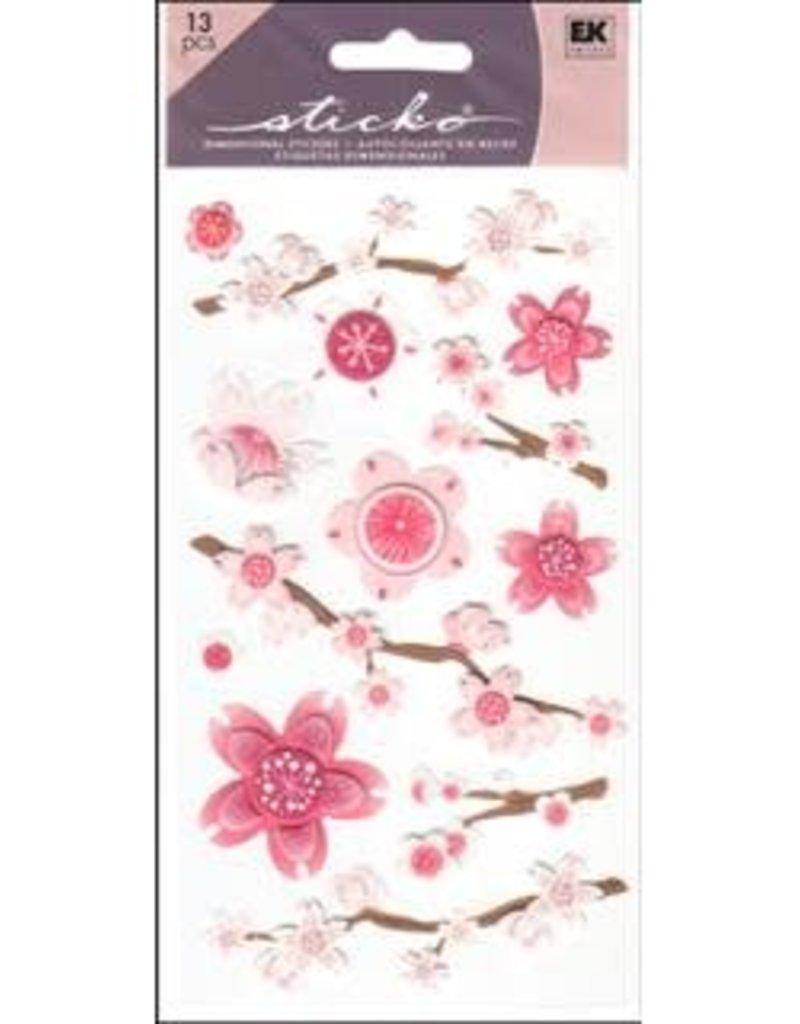 Sticko Sticker Vellum Cherry Blossoms