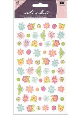 EK Sticker Teeny Tiny Flowers