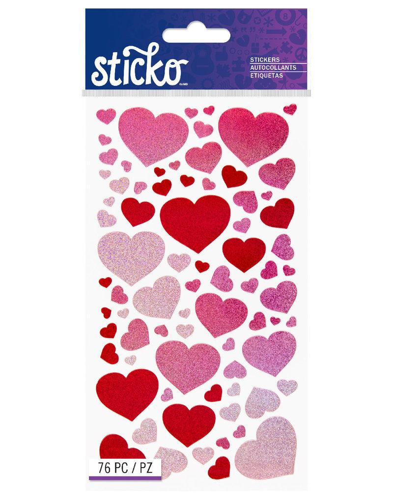 Sticko Sticker Blissful Hearts