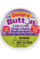 Darice Design a Button 2.5 Inches