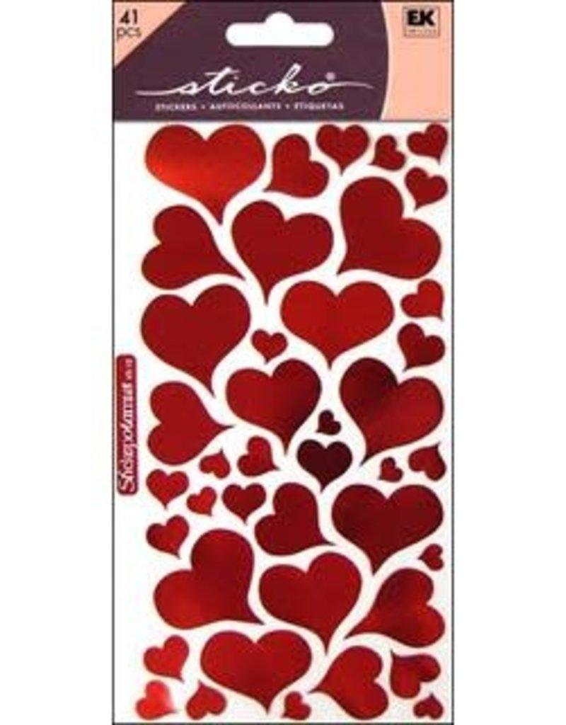 Sticko Sticker Foil Heart
