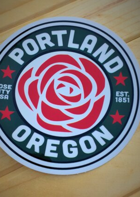 Toketee Sticker Portland Rose City Green