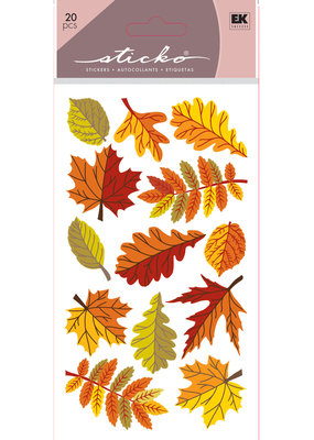 EK Sticker Fall Leaves