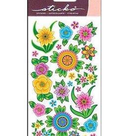 EK Sticker Flores