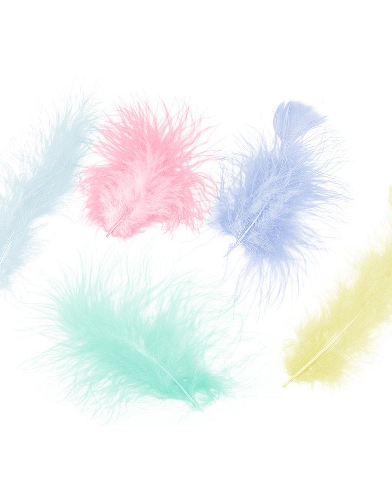 Zucker Feather Turkey Marabou Assorted Pastel