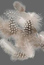Zucker Guinea Feathers Natural .10 oz
