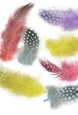 Zucker Guinea Feathers Day Glo .10 oz