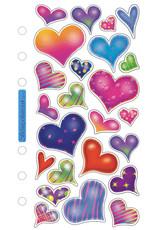 Sticko Sticker Sparkle Hearts