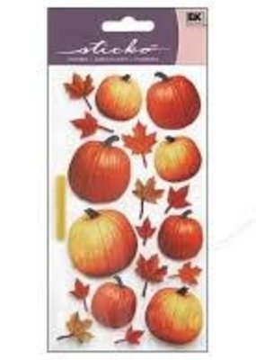 EK Sticker Autumn Pumpkins