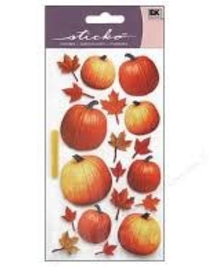 EK Sticker Autumn Pumpkins