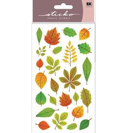 EK Sticker Elegant Fall Leaves