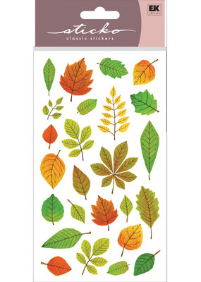 EK Sticker Elegant Fall Leaves