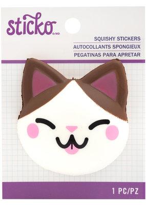 Sticko Squishy Sticker Cat