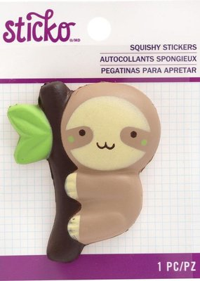 Sticko Squishy Sticker Sloth
