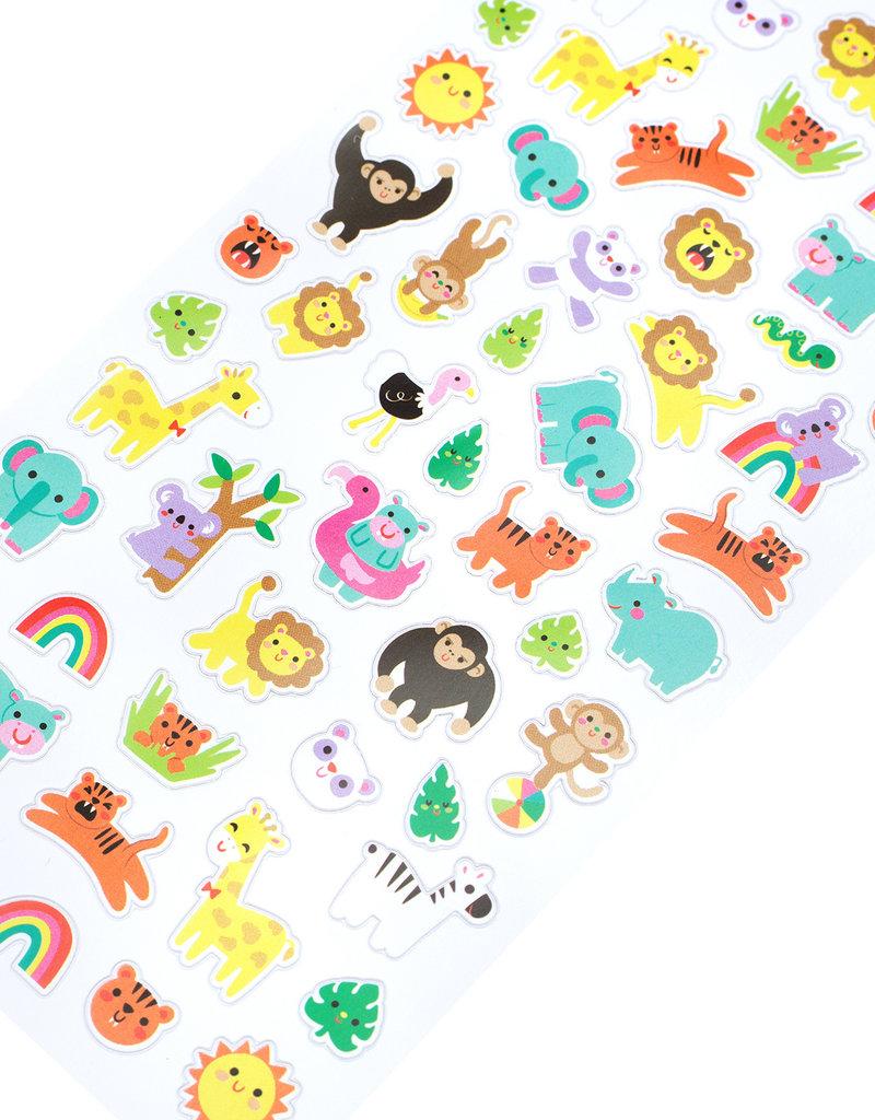 EK Sticker Tiny Jungle Animals