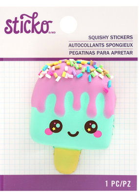 EK Squishy Sticker Popsicle