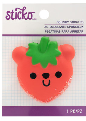 EK Squishy Sticker Beary