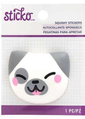 Sticko Squishy Sticker Dog