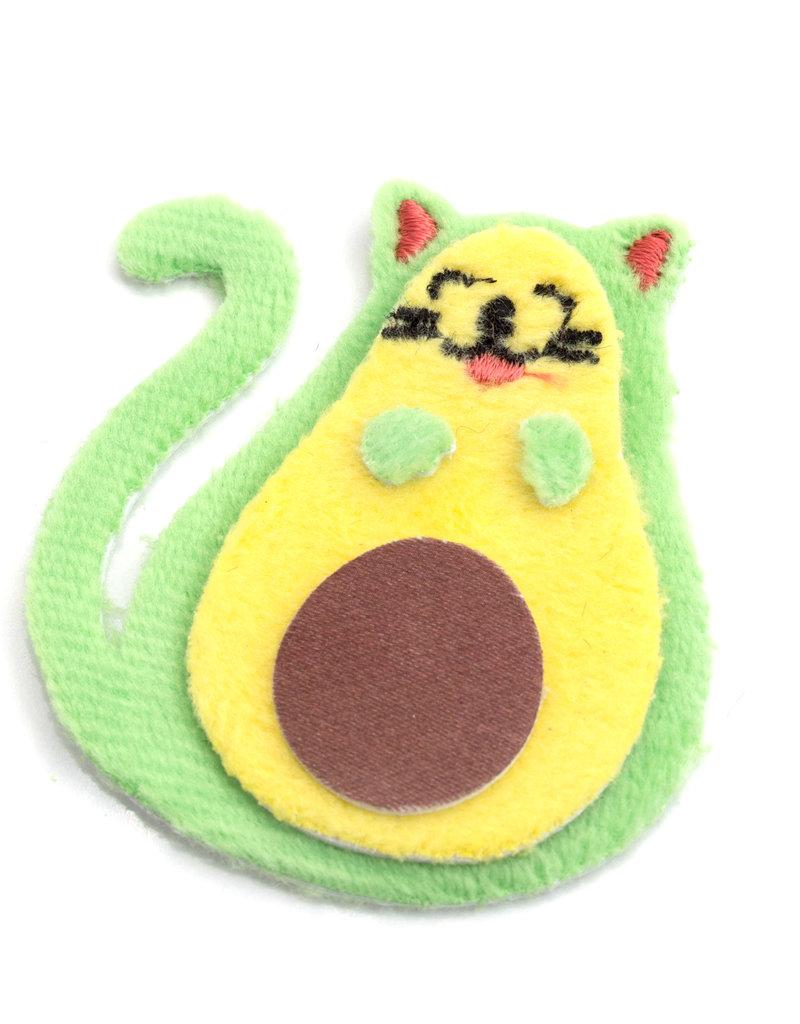 EK Fuzzy Sticker Avocato