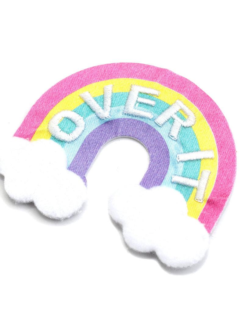 Sticko Fuzzy Sticker Rainbow Over It