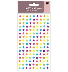 EK Stickers Rainbow Stars