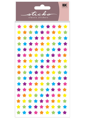 Sticko Stickers Rainbow Stars