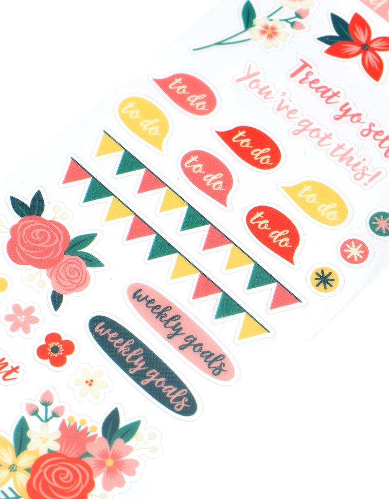 Sticko Sticker Floral Plan