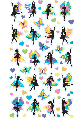 EK Sticker Fairy Dancers