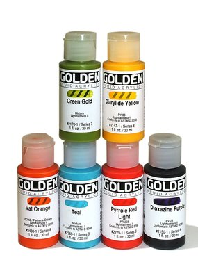 Golden Golden Fluid Acrylic 1 Ounce
