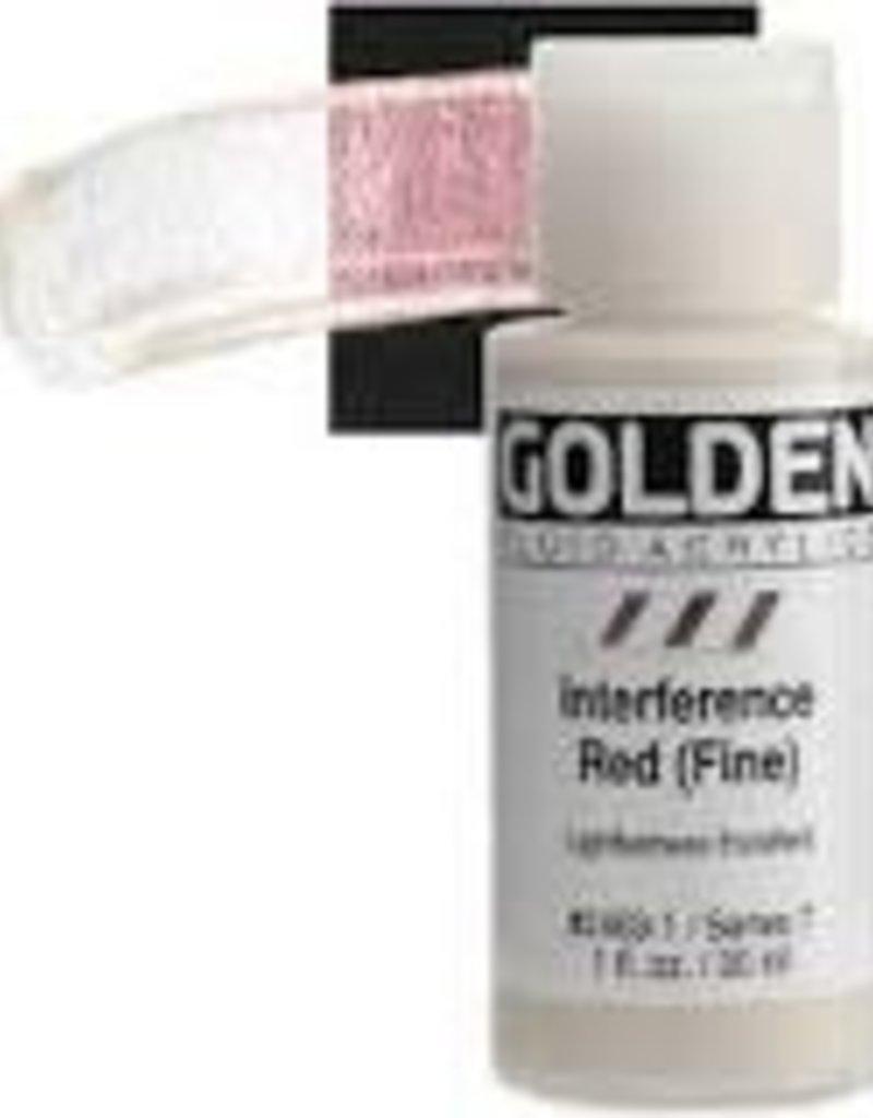 Golden Golden Fluid Acrylic 1 Ounce Interference