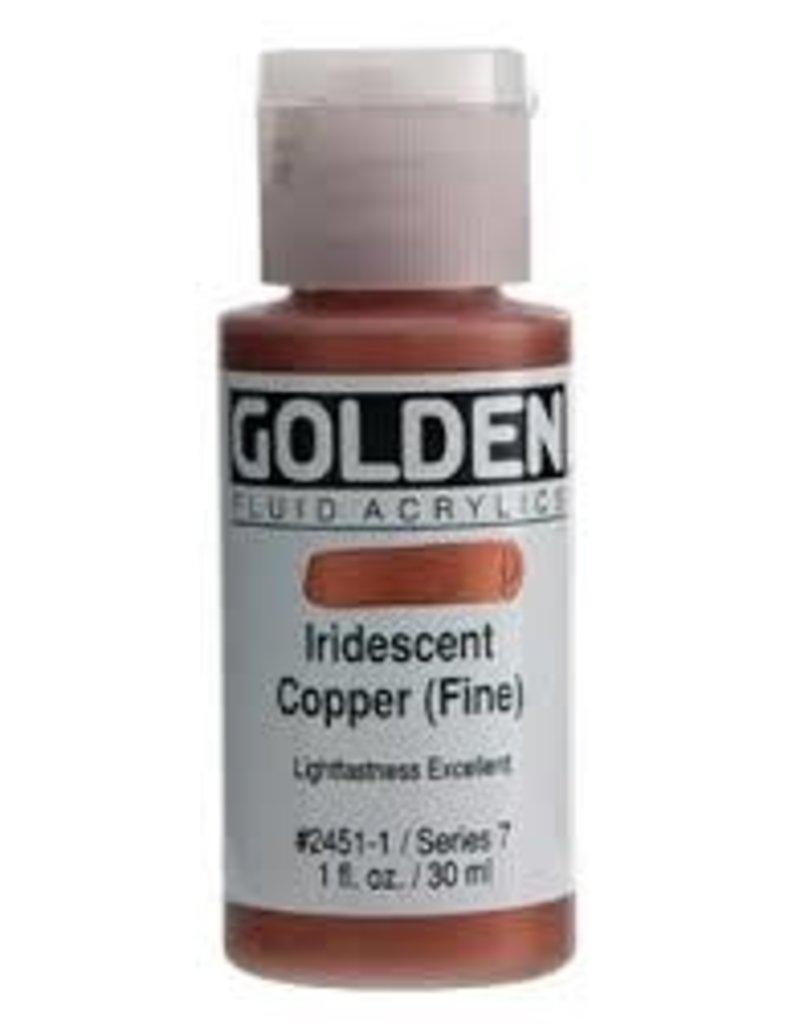 Golden Golden Fluid Acrylic 1 Ounce Iridescent