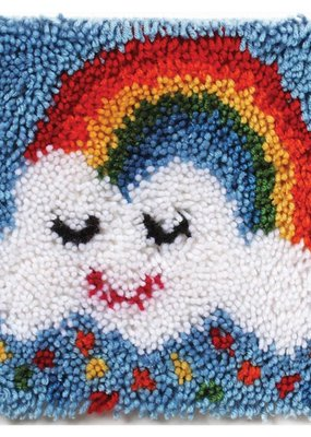Wonderart Latch Hook Kit Rainbow Sprinkles