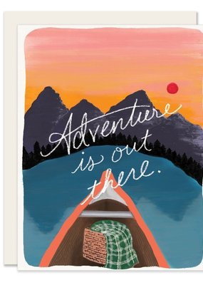 Slightly Stationery Card Adventure Is Out There