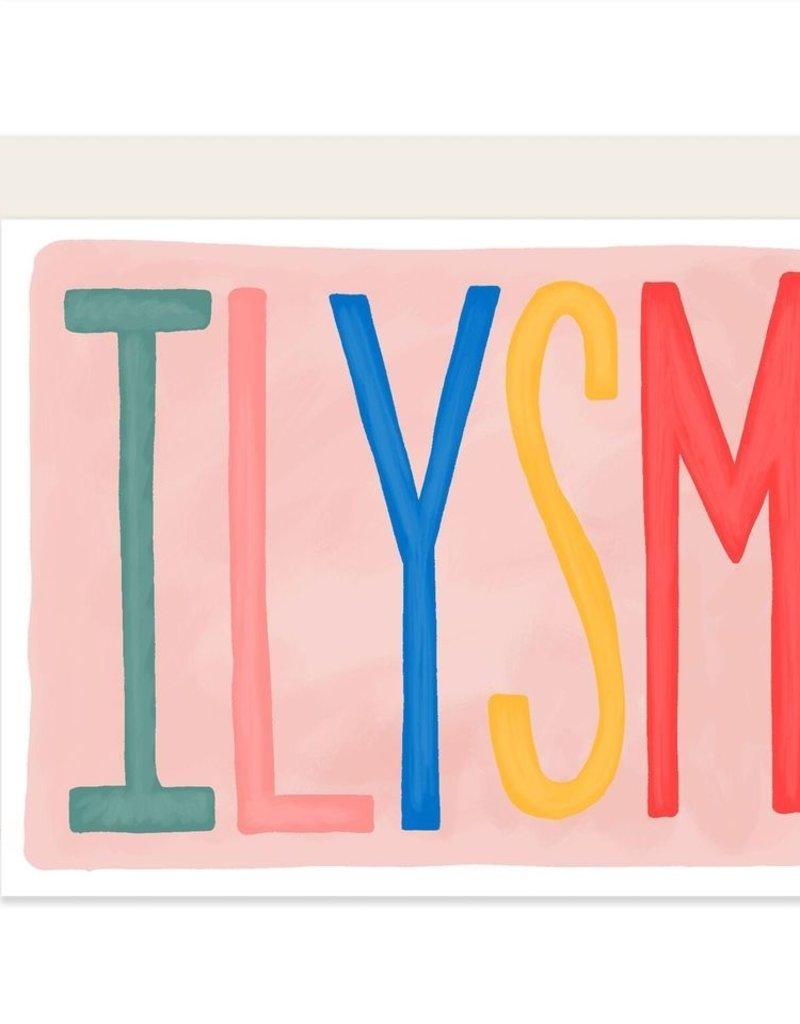 Slightly Stationery Card ILYSM
