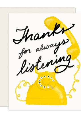 Slightly Stationery Card Always Listening