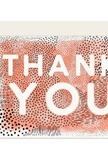 Slightly Stationery Card Abstract Thank You