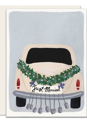 Slightly Stationery Card Just Married
