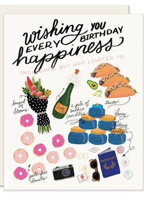 Slightly Stationery Card Every Happiness