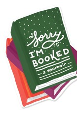 Slightly Stationery Sticker Sorry I'm Booked