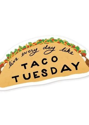 Slightly Stationery Sticker Taco Tuesday